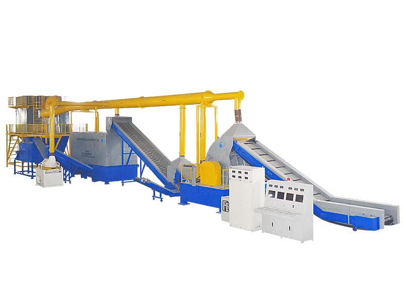 黄杂铜回收生产线 JZ-HZT16000