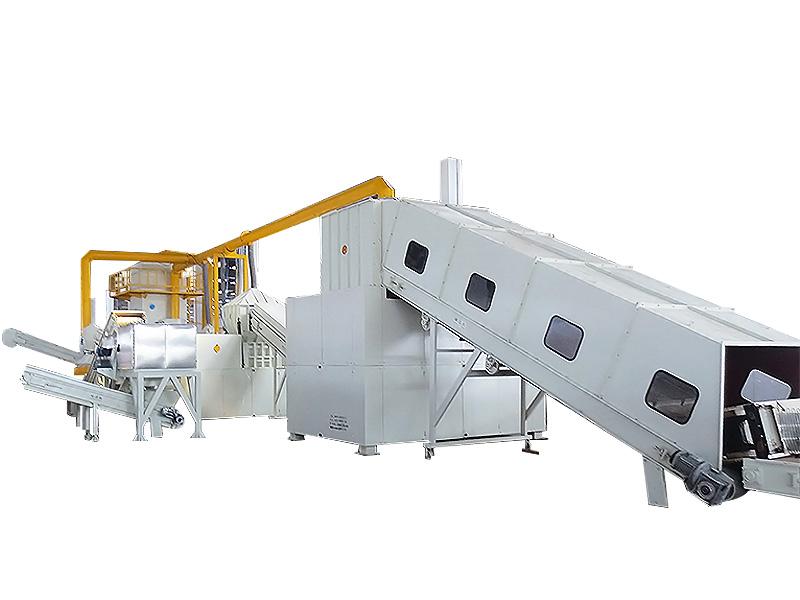 废冰箱回收生产线 WBHB-REF1000