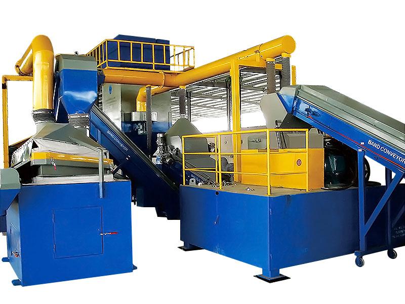 废电机转子回收生产线 WBHB-ROT930