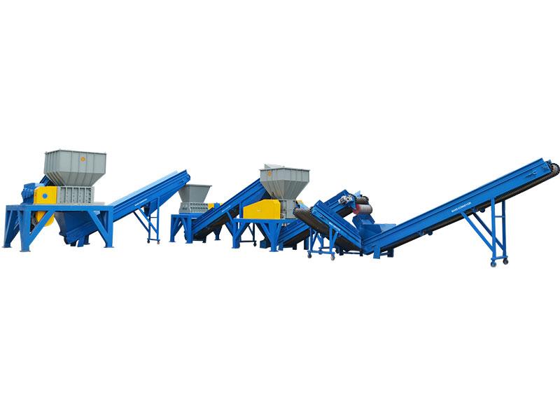 废塑料垃圾回收生产线 WBHB-SL8000